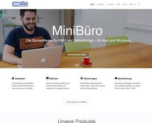 Webseite MiniBüro