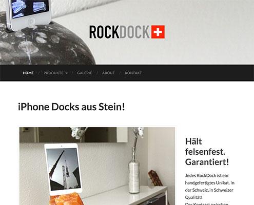 Webseite RockDock