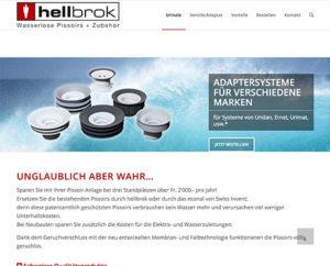 Webseite hellbrok